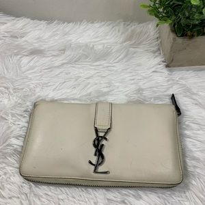 ❌SOLD❌YSL Leather Wallet